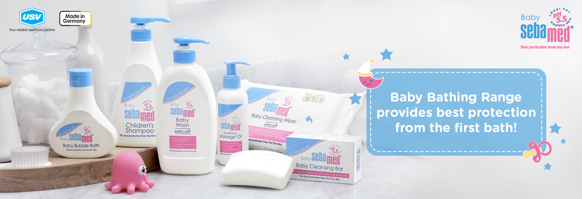Best Baby Products Online India - New Born Baby Products List - Baby Skin Care - Sebamed India